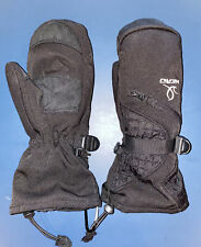 New listing Head Outlast Youth Black Winter Snow Ski Mittens Size Large