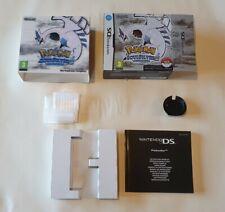 Vintage Nintendo DS Pokemon Soul Silver EMPTY box/manual/shipper 2010 NO GAME!