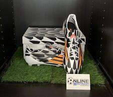 Adidas F50 Adizero FG World Cup 2014 - White/Orange/Black UK 8, US 8.5, EU 42