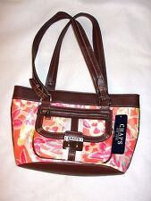 Women's Chaps Floral Mid-Size Tote/Handbag - NWT