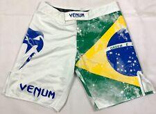 Venum Fight Shorts Rare Brazilian Flag Size XL MMA Muay Thai Boxing Training