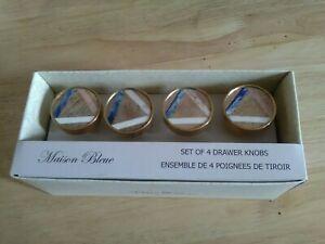 Maison Bleue set of 4 Drawer Knobs new