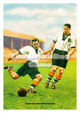 Football Art Print - Jackie Sewell, Notts County