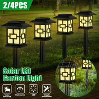 Solar Power Garden LED Lights Outdoor Waterproof Landscape Lawn Pathway LED Lamp