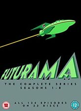 Futurama - Season 1-8 (1999) DVD