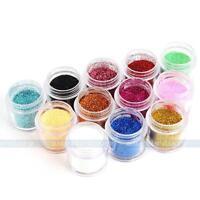 1Bottle Nail Art Bling Glitter Power For UV GEL DIY Manicure Nail Art Decoration