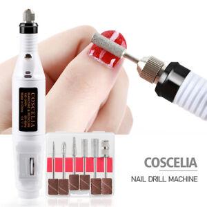Coscelia Nagelschneider Maniküre-Maschine für Nagel-Art-Werkzeugsatz Nageldesign