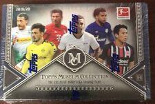 2019-20 TOPPS MUSEUM COLLECTION Bundesliga Fútbol Caja Sellada Haaland Reyan?