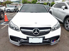 CARBON FRONT LIP SPOILER V STYLE FOR MERCEDES BENZ W212 AMG E63 ONLY