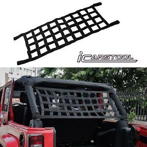 1PCS Cargo Net Roof Back Window Extra Storage Restraint For Jeep Wrangler TJ JK