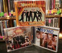 Rock Music 3 CD Lot THE * NSYNC COLLECTION  PDXPRSS0NSYNC   justin timberlake