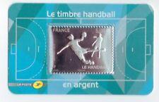 """Timbre """"Handball"""" 5,00€ Argent 2012"""
