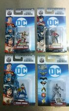 Jada Dc Nano Metalfigs Lot of 4 Dc43 Dc46 Dc53 Dc60 Reverse Flash Aquaman Wonder