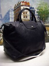 Longchamp 'Le Pliage Cuir' Large Leather Handbag - $640