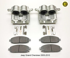 For Jeep Grand Cherokee Front Brake Caliper & Ceramic Pads 2005-2010