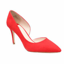 Faith Patternless Suede Court Heels for Women