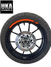 2017 KTM 125 125CC Duke Roue Arrière Et Michelin 150 60 17 Pneu Pignon Disque