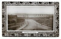 Tay Bridge from Dundee, Scotland 1914 Real Photo Postcard 549A
