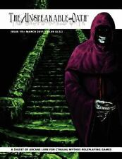 The Unspeakable Oath Issue 19: By Shane Ivey