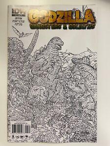 IDW GODZILLA : GANGSTERS & GOLIATHS #1 RI COVER : NM CONDITION
