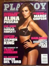 PLAYBOY NOVEMBER 2009 COVER MARGE SIMPSON, FARRAH FAWCETT TRIBUTE!