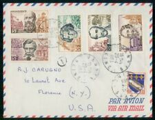 Mayfairstamps France 1963 Seines Vanves to US Airmail Cover wwh54347