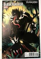 Black Panther #12 Marvel 2017 NM- Comic Book Venomized Variant Cover 1st Print