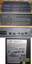 LOT OF 3 3COM 3CR17333-91 4210 26-PORT SWITCHES  network