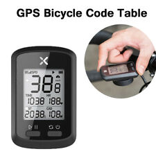Road Mountain Bike GPS Speedometer Odometer Bicycle Computer Mileage Code Table