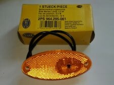 Hella LED Amber Side Marker Lamp 12V 2PS 964.295-061
