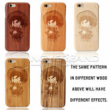 Personalised Design Name Unique Logo Wooden Phone Case Covers For IPhone&Samsung