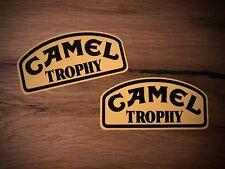 2x Camel Trophy pegatinas todoterreno camping 4x4 SUV todoterreno ruedas 4x4 #229