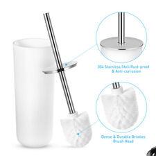 Bathroom Toilet Brush and Holder Set Stainless Toilet Bowl Cleaner Brush Set