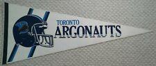 Toronto Argonauts Full Size CFL football Pennant classic 1976-1988 logo
