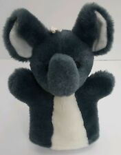 Plush Elephant Hand Puppet Stuffed Animal