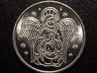 EDMUNDITE MISSION GUARDIAN ANGEL WATCH OVER AND PROTECT ME MEDAL!   LL103X