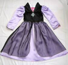 SLEEPING BEAUTY MALEFICENT Reversible GIRLS DRESS 4/6 Halloween Costume DISNEY