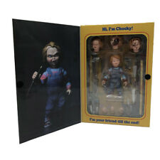 "NECA Child's Play Ultimate Chucky - 4"" Scale Action Figure Good Guys Doll"