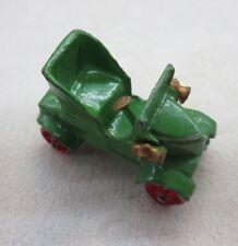 VINTAGE  DIECAST OR LEAD TOY ANTIQUE GREEN CAR JAPAN