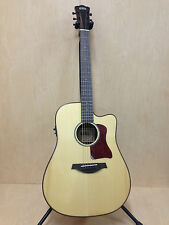 4/4 Gosila 8012 Solid Spruce Top Acoustic Guitar,Fishman EQ,Natural+Free Gig Bag