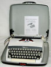 VTG 1966 Sears Citation 2 (Smith-Corona) Elite Manual Typewriter White  Works VG