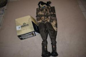 Magellan Mens Garrison 800 Breathable Insulated Hunting Bootfoot Wader Mossy Oak