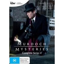 Murdoch Mysteries season Series 11 DVD R4 New & Sealed