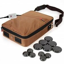 Portable Massage Stone Warmer Set - Electric Spa Hot Stones Massager Heater Kit