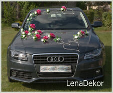 wedding car decoration, ribbon , bows, prom limousine decoration, NOA1