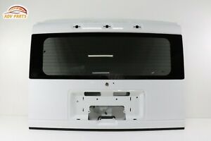 HUMMER H2 TAILGATE LIFTGATE TRUNK BACK DOOR SHELL W/ GLASS OEM 2003 - 2009 ✔️