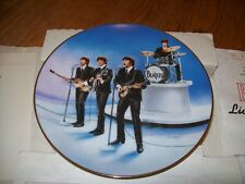 """Delphi- The Beatles """"Live in Concert"""" Limited-Edition Collector's Plate w/Coa"""