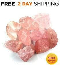 1LB Rough ROSE QUARTZ LOT Crystals Raw Pink Natural Healing Stone SUPER LARGE