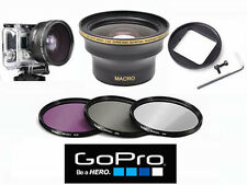 EXTREME SPORTS FISHEYE X30 + FILTER SET FOR GOPRO HERO4 SILVER & BLACK