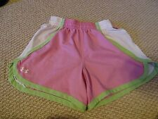 Girls Youth Small Pink Under Armour Shorts Great USED CONDITION